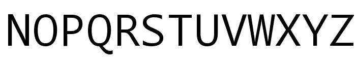 Segoe Mono Boot Font UPPERCASE