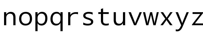 Segoe Mono Boot Font LOWERCASE
