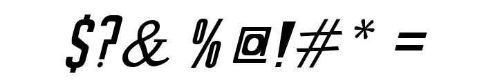 SeilsSans-Italic Font OTHER CHARS