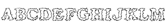Seismacrap Font UPPERCASE