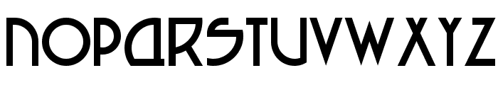Seized Future A Font UPPERCASE