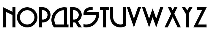 Seized Future Font UPPERCASE