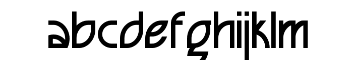 Seized Future Font LOWERCASE