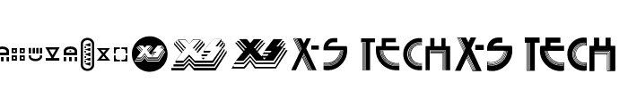 Seized X-S Font LOWERCASE