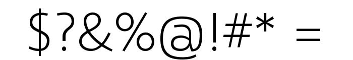 Selawik Light Font OTHER CHARS