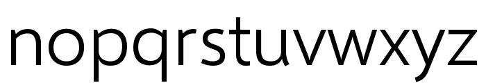 Selawik Semilight Font LOWERCASE