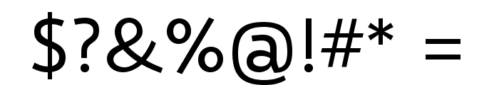 Selawik Font OTHER CHARS