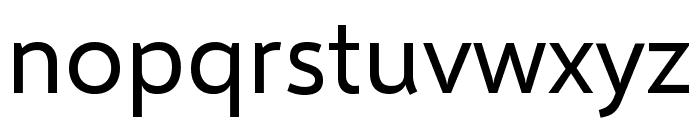 Selawik Font LOWERCASE