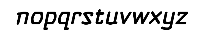 Self Destruct Button BB Italic Font LOWERCASE