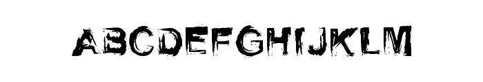 Self Righteousness Regular Font UPPERCASE