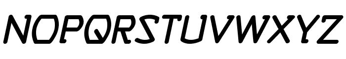 SelfDestructButtonBB-Italic Font UPPERCASE