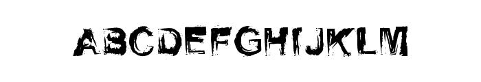 SelfRighteousness-Regular Font UPPERCASE