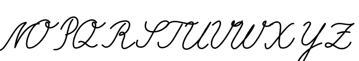 Selfilla Font UPPERCASE