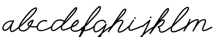 Selfilla Font LOWERCASE