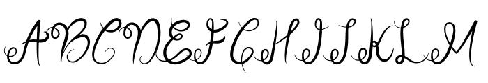 Sellebeew Font UPPERCASE