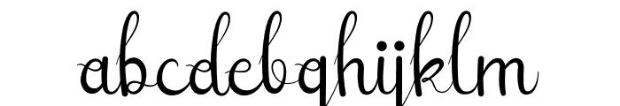 Sellebeew Font LOWERCASE