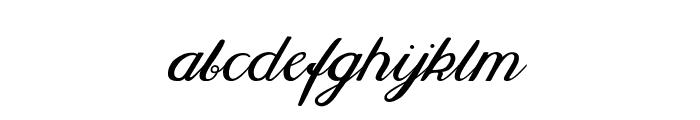 Selya Font LOWERCASE