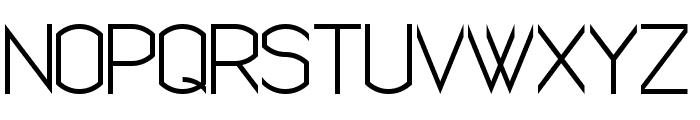 Semi Rounded Sans Serif 7 Font UPPERCASE