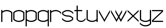 Semi Rounded Sans Serif 7 Font LOWERCASE