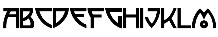 Semiramis Font UPPERCASE
