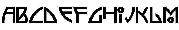 Semiramis Font LOWERCASE