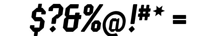 Semper Idem-Italic Font OTHER CHARS