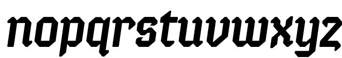 Semper Idem-Italic Font LOWERCASE