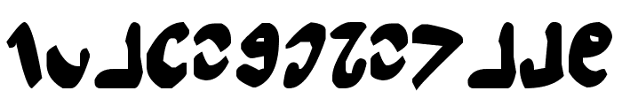 Semphari Bold Font LOWERCASE