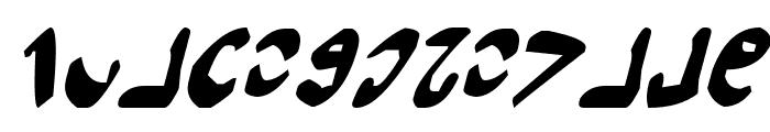 Semphari Italic Font LOWERCASE