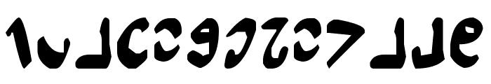 Semphari Font LOWERCASE