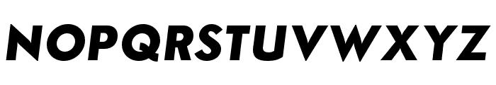 Semplicita-BoldItalic Font UPPERCASE