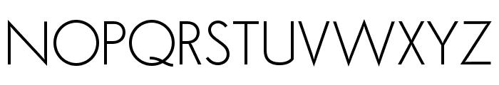Semplicita-Light Font UPPERCASE