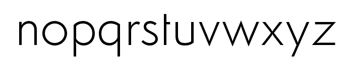 Semplicita-Light Font LOWERCASE
