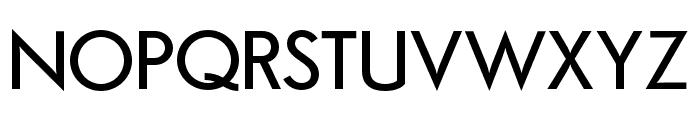 Semplicita-Medium Font UPPERCASE