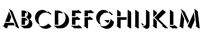 Semplicita-Ombra Font UPPERCASE