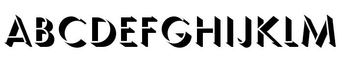 Semplicita-Ombra Font LOWERCASE