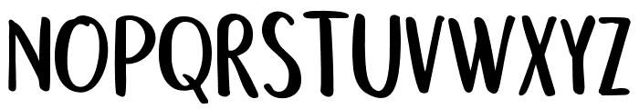 Semringah Font UPPERCASE