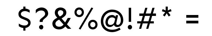 Sen Font OTHER CHARS
