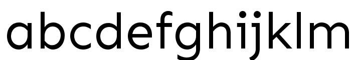 Sen Font LOWERCASE