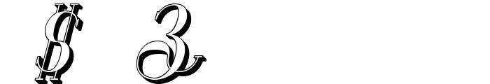 Senandung Malam 3D Bold Italic Font OTHER CHARS