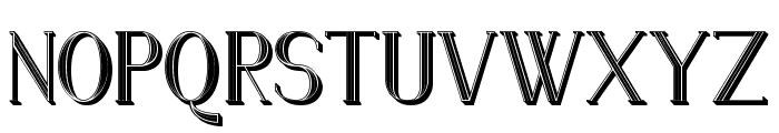 Senandung Malam 3D Regular Font UPPERCASE