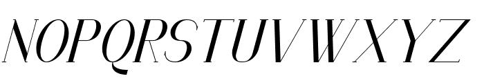 Senandung Malam Bold Italic Font UPPERCASE