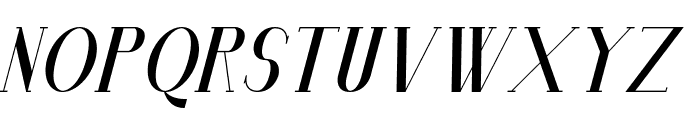 Senandung Malam Bold Italic Font LOWERCASE