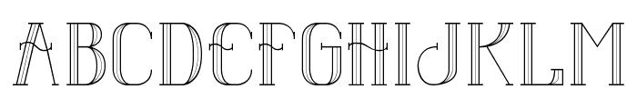 Senandung Malam Font LOWERCASE
