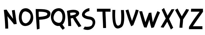 SenangBanyol Font LOWERCASE