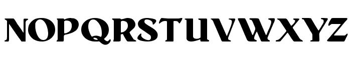 Senats-Antiqua Font UPPERCASE