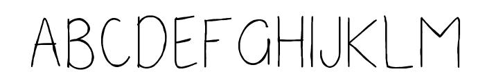 Seneca Font UPPERCASE