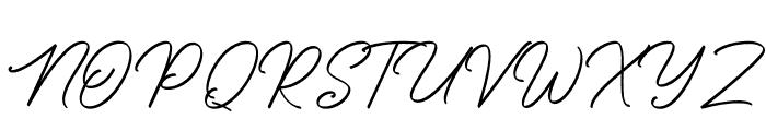 SengkalingDemo-Script Font UPPERCASE