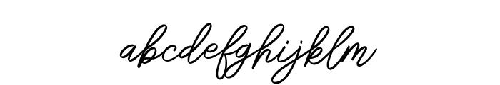 SengkalingDemo-Script Font LOWERCASE