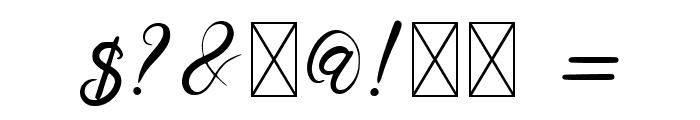 Senoritta Font OTHER CHARS